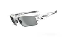 Oakley Fast Jacket XL polished white/clear black photochromic
